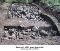 Chronicle of the Archaeological Excavations in Romania, 2005 Campaign. Report no. 29, Augustin, Tipia Ormenişului (Ţepelul Ormenişului)<br /><a href='http://foto.cimec.ro/cronica/2005/029/rsz-2.jpg' target=_blank>Display the same picture in a new window</a>