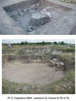 Chronicle of the Archaeological Excavations in Romania, 2005 Campaign. Report no. 50, Capidava, La Grajduri.<br /> Sector 06-ilustratie sector X.<br /><a href='http://foto.cimec.ro/cronica/2005/050/rsz-22.jpg' target=_blank>Display the same picture in a new window</a>