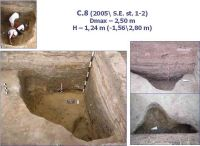 Chronicle of the Archaeological Excavations in Romania, 2005 Campaign. Report no. 59, Cheia, Vatra satului.<br /> Sector ILUSTRATIE-CHEIA-2017.<br /><a href='http://foto.cimec.ro/cronica/2005/059/rsz-7.jpg' target=_blank>Display the same picture in a new window</a>