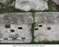 Chronicle of the Archaeological Excavations in Romania, 2006 Campaign. Report no. 2, Adamclisi, Cetate.<br /> Sector sectorD.<br /><a href='http://foto.cimec.ro/cronica/2006/002/rsz-20.jpg' target=_blank>Display the same picture in a new window</a>