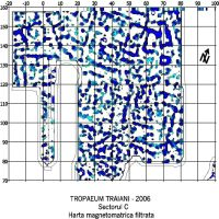 Chronicle of the Archaeological Excavations in Romania, 2006 Campaign. Report no. 2, Adamclisi, Cetate.<br /> Sector sectorD.<br /><a href='http://foto.cimec.ro/cronica/2006/002/rsz-34.jpg' target=_blank>Display the same picture in a new window</a>