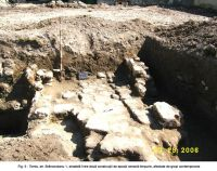 Chronicle of the Archaeological Excavations in Romania, 2006 Campaign. Report no. 63, Constanţa, str. Brâncoveanu<br /><a href='http://foto.cimec.ro/cronica/2006/063/rsz-4.jpg' target=_blank>Display the same picture in a new window</a>