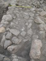 Chronicle of the Archaeological Excavations in Romania, 2007 Campaign. Report no. 75, Hârşova, Tell<br /><a href='http://foto.cimec.ro/cronica/2007/075-HARSOVA-CT-Carsium-C/foto-22-i-3-si-amenajarea-de-pietre.jpg' target=_blank>Display the same picture in a new window</a>