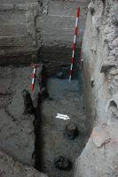 Chronicle of the Archaeological Excavations in Romania, 2007 Campaign. Report no. 187, Timişoara, Castelul Huniade<br /><a href='http://foto.cimec.ro/cronica/2007/187-TIMISOARA-TM-CastelHuniade-2/fig-6-s-2-fundatia-bastionului-vedere-dinspre-est.JPG' target=_blank>Display the same picture in a new window</a>