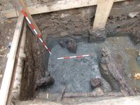 Chronicle of the Archaeological Excavations in Romania, 2007 Campaign. Report no. 187, Timişoara, Castelul Huniade<br /><a href='http://foto.cimec.ro/cronica/2007/187-TIMISOARA-TM-CastelHuniade-2/fig-7-s-1-c-1-3-vedere-dinspre-n.JPG' target=_blank>Display the same picture in a new window</a>