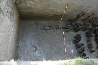 Chronicle of the Archaeological Excavations in Romania, 2007 Campaign. Report no. 187, Timişoara, Castelul Huniade<br /><a href='http://foto.cimec.ro/cronica/2007/187-TIMISOARA-TM-CastelHuniade-2/fig-8-s-c-10-11-palisada-si-santul-de-aparare.JPG' target=_blank>Display the same picture in a new window</a>