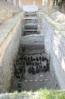 Chronicle of the Archaeological Excavations in Romania, 2007 Campaign. Report no. 187, Timişoara, Castelul Huniade<br /><a href='http://foto.cimec.ro/cronica/2007/187-TIMISOARA-TM-CastelHuniade-2/fig-9-s-1-vedere-generala-dinspre-e.JPG' target=_blank>Display the same picture in a new window</a>