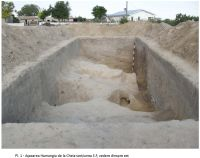 Chronicle of the Archaeological Excavations in Romania, 2008 Campaign. Report no. 17, Cheia, Vatra satului.<br /> Sector ILUSTRATIE-CHEIA-2017.<br /><a href='http://foto.cimec.ro/cronica/2008/017/1-sectiunea-s-f.jpg' target=_blank>Display the same picture in a new window</a>