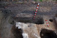 Chronicle of the Archaeological Excavations in Romania, 2008 Campaign. Report no. 30, Frumuşeni, Mănăstirea Bizere (Fântâna Turcului)<br /><a href='http://foto.cimec.ro/cronica/2008/030/cimitir.JPG' target=_blank>Display the same picture in a new window</a>