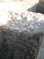 Chronicle of the Archaeological Excavations in Romania, 2008 Campaign. Report no. 34, Hârşova, Tell<br /><a href='http://foto.cimec.ro/cronica/2008/034/foto-14-fata-incintei-mari-in-s-2.jpg' target=_blank>Display the same picture in a new window</a>