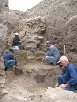 Chronicle of the Archaeological Excavations in Romania, 2008 Campaign. Report no. 34, Hârşova, Tell<br /><a href='http://foto.cimec.ro/cronica/2008/034/foto-8-in-partea-de-est-a-sectiunii.jpg' target=_blank>Display the same picture in a new window</a>