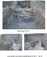 Cronica Cercetărilor Arheologice din România, Campania 2008. Raportul nr. 37, Isaccea, La Pontonul Vechi (Cetate, Eski-kale)<br /><a href='http://foto.cimec.ro/cronica/2008/037/curtina-sc2.jpg' target=_blank>Priveşte aceeaşi imagine într-o fereastră nouă</a>