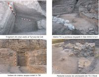 Chronicle of the Archaeological Excavations in Romania, 2008 Campaign. Report no. 37, Isaccea, La Pontonul Vechi (Cetate, Eski-kale)<br /><a href='http://foto.cimec.ro/cronica/2008/037/sapaturi-2008-detalii.jpg' target=_blank>Display the same picture in a new window</a>