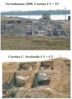 Chronicle of the Archaeological Excavations in Romania, 2008 Campaign. Report no. 37, Isaccea, La Pontonul Vechi (Cetate, Eski-kale)<br /><a href='http://foto.cimec.ro/cronica/2008/037/sapaturi-2008.jpg' target=_blank>Display the same picture in a new window</a>