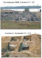 Cronica Cercetărilor Arheologice din România, Campania 2008. Raportul nr. 37, Isaccea, La Pontonul Vechi (Cetate, Eski-kale)<br /><a href='http://foto.cimec.ro/cronica/2008/037/sapaturi-2008.jpg' target=_blank>Priveşte aceeaşi imagine într-o fereastră nouă</a>