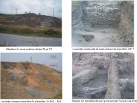 Chronicle of the Archaeological Excavations in Romania, 2008 Campaign. Report no. 37, Isaccea, La Pontonul Vechi (Cetate, Eski-kale)<br /><a href='http://foto.cimec.ro/cronica/2008/037/sapaturi-c-tc.jpg' target=_blank>Display the same picture in a new window</a>