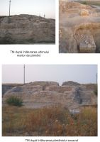 Chronicle of the Archaeological Excavations in Romania, 2008 Campaign. Report no. 37, Isaccea, La Pontonul Vechi (Cetate, Eski-kale)<br /><a href='http://foto.cimec.ro/cronica/2008/037/turnul-mare-2008.jpg' target=_blank>Display the same picture in a new window</a>