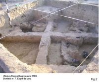 Chronicle of the Archaeological Excavations in Romania, 2008 Campaign. Report no. 107, Vlădeni, Coasta Belciugului<br /><a href='http://foto.cimec.ro/cronica/2008/107/2.JPG' target=_blank>Display the same picture in a new window</a>