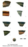 Chronicle of the Archaeological Excavations in Romania, 2008 Campaign. Report no. 118, Baloteşti, Petreşti<br /><a href='http://foto.cimec.ro/cronica/2008/118/fig2-material-ceramic-din-complexele-cercetate.jpg' target=_blank>Display the same picture in a new window</a>
