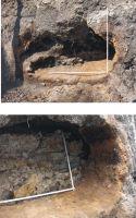 Cronica Cercetărilor Arheologice din România, Campania 2008. Raportul nr. 141, Cluj-Napoca, str. M. Kogălniceanu, nr. 12-14<br /><a href='http://foto.cimec.ro/cronica/2008/141/fig3-4-cuptor-de-ars-ceramica.jpg' target=_blank>Priveşte aceeaşi imagine într-o fereastră nouă</a>