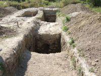 Chronicle of the Archaeological Excavations in Romania, 2008 Campaign. Report no. 166, Mănăstirea Caşin, Complexul istoric al fostei Mănăstiri Caşin<br /><a href='http://foto.cimec.ro/cronica/2008/166/4-manastirea-casin-2008-s1-si-s2-vedere-din-partea-de-nord-300.jpg' target=_blank>Display the same picture in a new window</a>