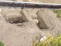 Cronica Cercetărilor Arheologice din România, Campania 2009. Raportul nr. 112, Cârţa<br /><a href='http://foto.cimec.ro/cronica/2009/preventive/112/1-Carta-2009-vedere-de-sus.jpg' target=_blank>Priveşte aceeaşi imagine într-o fereastră nouă</a>