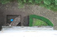 Chronicle of the Archaeological Excavations in Romania, 2009 Campaign. Report no. 119, Dealu Frumos<br /><a href='http://foto.cimec.ro/cronica/2009/preventive/119/5-s3-ruina-absidei.jpg' target=_blank>Display the same picture in a new window</a>