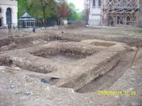 Chronicle of the Archaeological Excavations in Romania, 2009 Campaign. Report no. 121, Focşani, Grădina Publică<br /><a href='http://foto.cimec.ro/cronica/2009/preventive/121/FOCSANI-VN-Piata-Unirii02.JPG' target=_blank>Display the same picture in a new window</a>