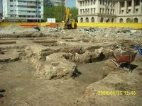 Chronicle of the Archaeological Excavations in Romania, 2009 Campaign. Report no. 121, Focşani, Grădina Publică<br /><a href='http://foto.cimec.ro/cronica/2009/preventive/121/FOCSANI-VN-Piata-Unirii03.JPG' target=_blank>Display the same picture in a new window</a>