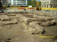 Chronicle of the Archaeological Excavations in Romania, 2009 Campaign. Report no. 121, Focşani, Grădina Publică<br /><a href='http://foto.cimec.ro/cronica/2009/preventive/121/FOCSANI-VN-Piata-Unirii04.JPG' target=_blank>Display the same picture in a new window</a>
