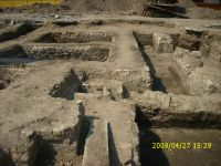 Chronicle of the Archaeological Excavations in Romania, 2009 Campaign. Report no. 121, Focşani, Grădina Publică<br /><a href='http://foto.cimec.ro/cronica/2009/preventive/121/FOCSANI-VN-Piata-Unirii09.JPG' target=_blank>Display the same picture in a new window</a>
