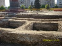 Chronicle of the Archaeological Excavations in Romania, 2009 Campaign. Report no. 121, Focşani, Grădina Publică<br /><a href='http://foto.cimec.ro/cronica/2009/preventive/121/FOCSANI-VN-Piata-Unirii11.JPG' target=_blank>Display the same picture in a new window</a>