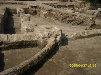 Chronicle of the Archaeological Excavations in Romania, 2009 Campaign. Report no. 121, Focşani, Grădina Publică<br /><a href='http://foto.cimec.ro/cronica/2009/preventive/121/FOCSANI-VN-Piata-Unirii13.JPG' target=_blank>Display the same picture in a new window</a>