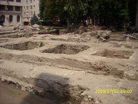 Chronicle of the Archaeological Excavations in Romania, 2009 Campaign. Report no. 121, Focşani, Grădina Publică<br /><a href='http://foto.cimec.ro/cronica/2009/preventive/121/FOCSANI-VN-Piata-Unirii21.JPG' target=_blank>Display the same picture in a new window</a>