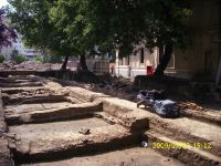 Chronicle of the Archaeological Excavations in Romania, 2009 Campaign. Report no. 121, Focşani, Grădina Publică<br /><a href='http://foto.cimec.ro/cronica/2009/preventive/121/FOCSANI-VN-Piata-Unirii24.JPG' target=_blank>Display the same picture in a new window</a>