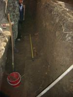 Chronicle of the Archaeological Excavations in Romania, 2009 Campaign. Report no. 122, Focşani, Gologani<br /><a href='http://foto.cimec.ro/cronica/2009/preventive/122/FOCSANI-VN-Biserica-Sf-Nicolae16.JPG' target=_blank>Display the same picture in a new window</a>