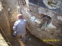 Chronicle of the Archaeological Excavations in Romania, 2009 Campaign. Report no. 122, Focşani, Gologani<br /><a href='http://foto.cimec.ro/cronica/2009/preventive/122/FOCSANI-VN-Biserica-Sf-Nicolae27.JPG' target=_blank>Display the same picture in a new window</a>
