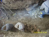 Chronicle of the Archaeological Excavations in Romania, 2009 Campaign. Report no. 122, Focşani, Gologani<br /><a href='http://foto.cimec.ro/cronica/2009/preventive/122/FOCSANI-VN-Biserica-Sf-Nicolae29.JPG' target=_blank>Display the same picture in a new window</a>