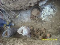 Chronicle of the Archaeological Excavations in Romania, 2009 Campaign. Report no. 122, Focşani, Gologani<br /><a href='http://foto.cimec.ro/cronica/2009/preventive/122/FOCSANI-VN-Biserica-Sf-Nicolae30.JPG' target=_blank>Display the same picture in a new window</a>