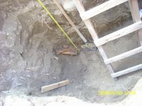Chronicle of the Archaeological Excavations in Romania, 2009 Campaign. Report no. 122, Focşani, Gologani<br /><a href='http://foto.cimec.ro/cronica/2009/preventive/122/FOCSANI-VN-Biserica-Sf-Nicolae44.JPG' target=_blank>Display the same picture in a new window</a>