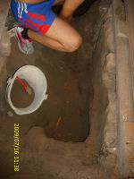 Chronicle of the Archaeological Excavations in Romania, 2009 Campaign. Report no. 122, Focşani, Gologani<br /><a href='http://foto.cimec.ro/cronica/2009/preventive/122/FOCSANI-VN-Biserica-Sf-Nicolae69.JPG' target=_blank>Display the same picture in a new window</a>