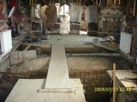 Chronicle of the Archaeological Excavations in Romania, 2009 Campaign. Report no. 122, Focşani, Gologani<br /><a href='http://foto.cimec.ro/cronica/2009/preventive/122/FOCSANI-VN-Biserica-Sf-Nicolae79.JPG' target=_blank>Display the same picture in a new window</a>