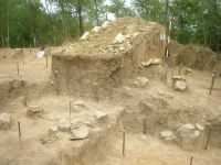 Chronicle of the Archaeological Excavations in Romania, 2009 Campaign. Report no. 154, Răducăneni, Bâzga (Cetăţuie)<br /><a href='http://foto.cimec.ro/cronica/2009/preventive/154/bazga1.JPG' target=_blank>Display the same picture in a new window</a>