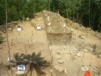 Chronicle of the Archaeological Excavations in Romania, 2009 Campaign. Report no. 154, Răducăneni, Bâzga (Cetăţuie)<br /><a href='http://foto.cimec.ro/cronica/2009/preventive/154/bazga3.JPG' target=_blank>Display the same picture in a new window</a>