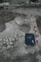 Chronicle of the Archaeological Excavations in Romania, 2009 Campaign. Report no. 1, Adamclisi, Cetate.<br /> Sector 06-sectorC-planse.<br /><a href='http://foto.cimec.ro/cronica/2009/sistematice/001/06-sectorC-planse/8-S6-detaliu.JPG' target=_blank>Display the same picture in a new window</a>