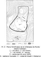 Cronica Cercetărilor Arheologice din România, Campania 2009. Raportul nr. 26, Grădiştea De Munte, Sarmizegetusa Regia (Grădiştea Muncelului, Dealul Grădiştii)<br /><a href='http://foto.cimec.ro/cronica/2009/sistematice/026/Pl-5.jpg' target=_blank>Priveşte aceeaşi imagine într-o fereastră nouă</a>