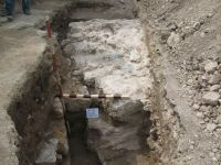 Chronicle of the Archaeological Excavations in Romania, 2009 Campaign. Report no. 27, Hârşova, La Cetate (Carsium)<br /><a href='http://foto.cimec.ro/cronica/2009/sistematice/027/26-harsova-s-iii-intarea-stanga.jpg' target=_blank>Display the same picture in a new window</a>