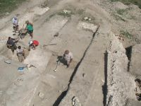 Chronicle of the Archaeological Excavations in Romania, 2009 Campaign. Report no. 27, Hârşova, La Cetate (Carsium)<br /><a href='http://foto.cimec.ro/cronica/2009/sistematice/027/33-HARSOVA-T-1-Vedere-generala.jpg' target=_blank>Display the same picture in a new window</a>