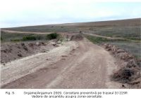 Chronicle of the Archaeological Excavations in Romania, 2009 Campaign. Report no. 36, Jurilovca, Capul Dolojman<br /><a href='http://foto.cimec.ro/cronica/2009/sistematice/036/09-JURILOVCA-TL-Argamum.jpg' target=_blank>Display the same picture in a new window</a>