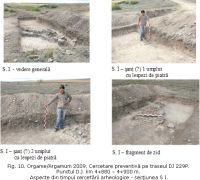 Chronicle of the Archaeological Excavations in Romania, 2009 Campaign. Report no. 36, Jurilovca, Capul Dolojman<br /><a href='http://foto.cimec.ro/cronica/2009/sistematice/036/10-JURILOVCA-TL-Argamum.jpg' target=_blank>Display the same picture in a new window</a>